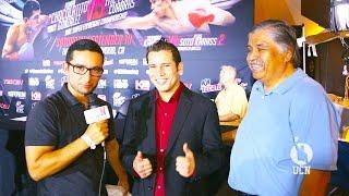 Carlos Cuadras Interview  - Gonzalez vs Cuadras Press Conference  - UCN EXCLUSIVE
