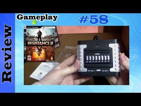 Eagle Eye 3.0 Keyboard & Mouse Convertor (PS3) Review Unboxing Setup & Gameplay