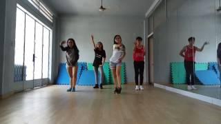 một năm mới bnh an dance practise by tm dance team cheoro vu quynh nhi