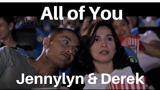 Interviews MMFF 2017 Best Actor Winner Derek Ramsay & Jennylyn Mercado movie All of You