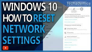 How To Reset All Network Settings Windows 10 2018