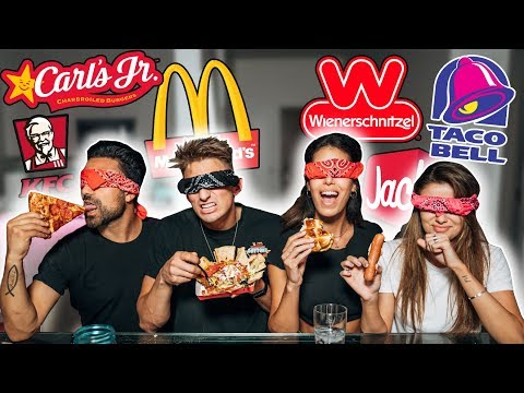 GUESS THAT FAST FOOD RESTAURANT CHALLENGE! (Mystery Items)