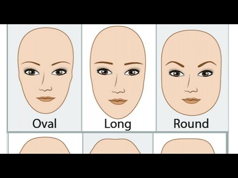 Which Eyebrow Suit Your Face Shape - YouTube
