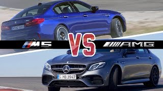 BMW M5 (2018) vs. E63 AMG (2017) - Which Car is Better?
