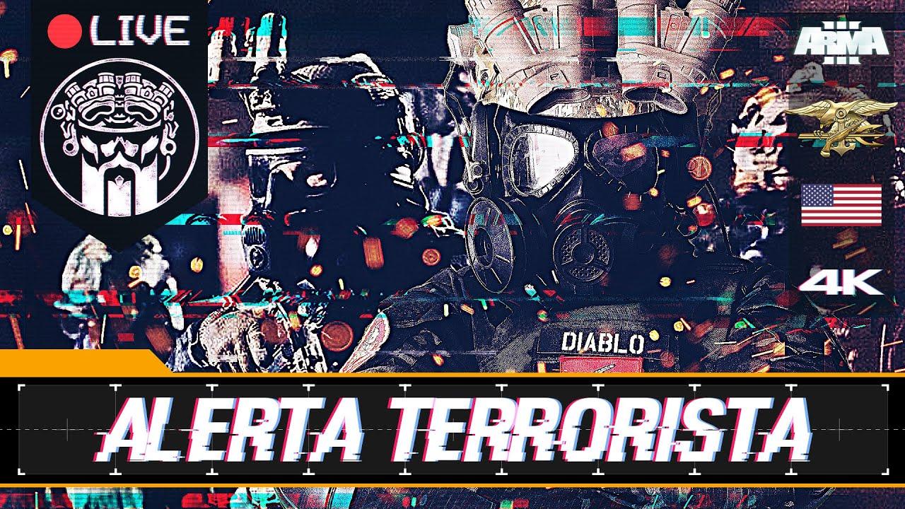 OPERACIÓN ALERTA TERRORISTA - ARMA3 4K - NSWDG - SQUAD ALPHA - DIABLO HELMETCAM - Español