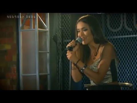 "Astghik Safaryan in the program ""1 vs 1"" on Kentron TV"