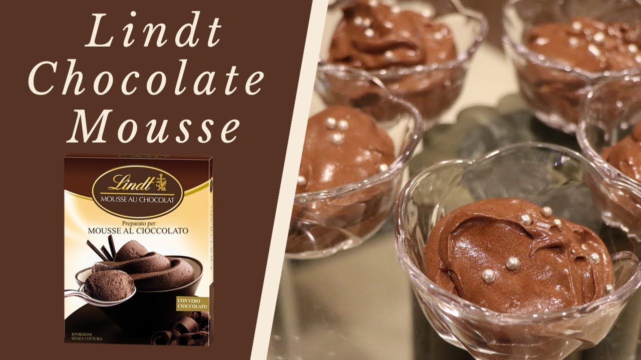 How to make Eggless Chocolate Mousse | Lindt Chocolate ...