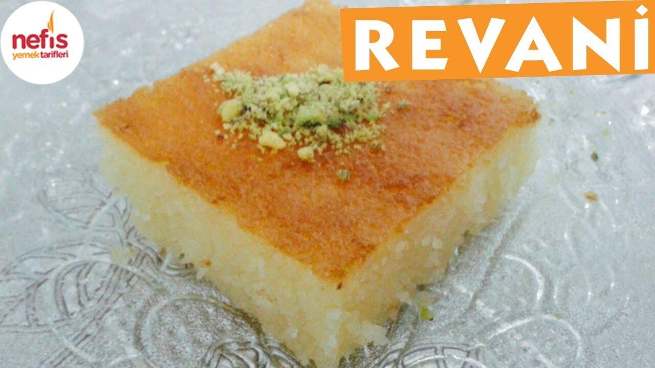 Portakallı Revani Tarifi(Lezzetli ve yapimi cok kolay)-Yemek Tarifleri