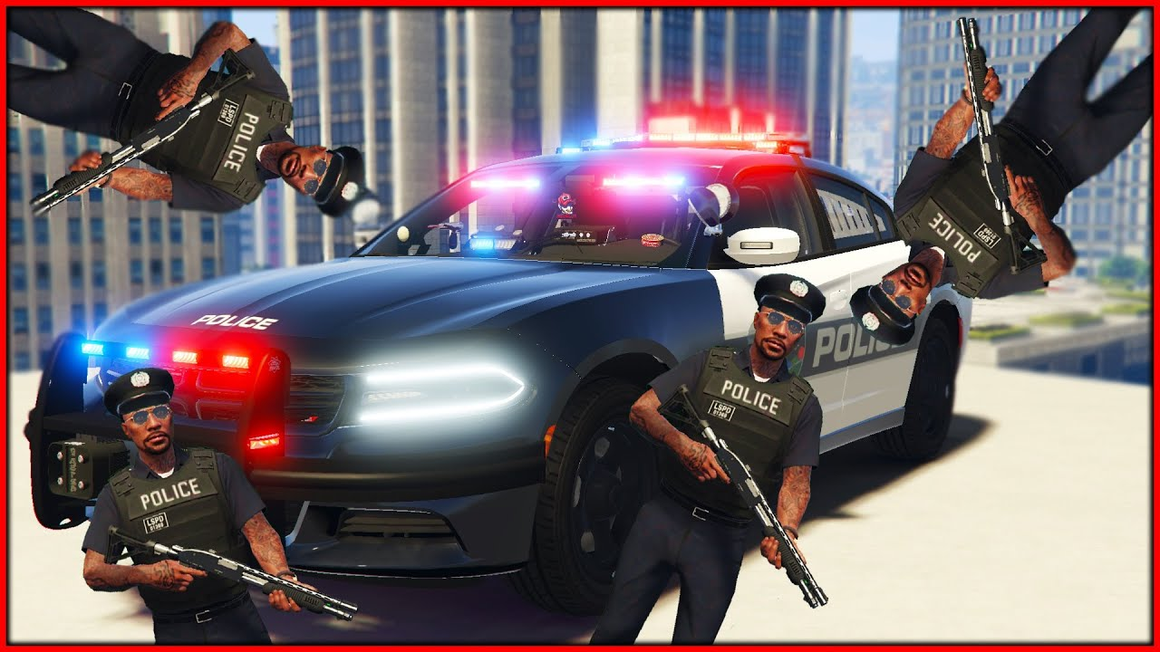 Download GTA RP   I BECOME a COOL COP to HELP THE COMUNITY   redlinerp