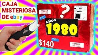 Abro Caja Misteriosa AÑOS 1980 de $140 de Ebay 📦❓ | Caja Sorpresa