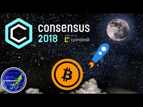 Consensus 2018! Cryptocurrency prices set to skyrocket?