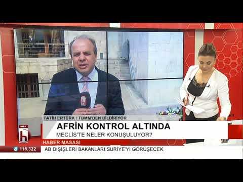 Meclis'te Afrin ile ilgili neler konuşuluyor?