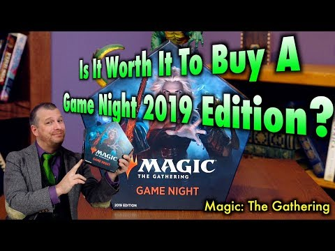 Is It Worth It To Buy Game Night 2019 Edition for Magic: The Gathering?