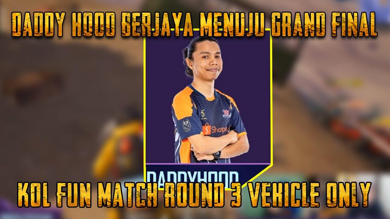 Daddy Hood Berjaya Memenangi Fun Match Round Akhir | KOL Fun Match | PUBG Mobile Malaysia