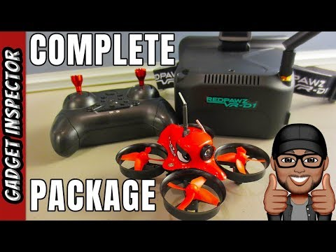 RedPawz R011 All in One Budget Micro FPV Bundle Review - Everything You Need is in the Box