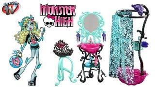 Monster High Lagoona Blue Shower Set Toy Review, Mattel
