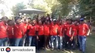 DELIVERY BOYS OF ZOMATO PROTESTS AGAINST CUT DOWN OF THERE SALARIE