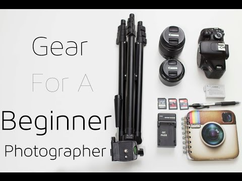 Camera Gear for Beginners