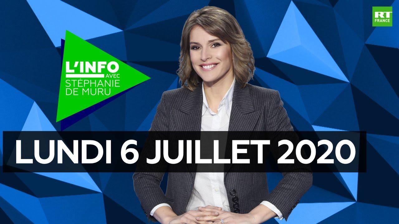 L'Info avec Stéphanie De Muru – Lundi 6 juillet 2020 : Remaniement, Brexit, Coronavirus