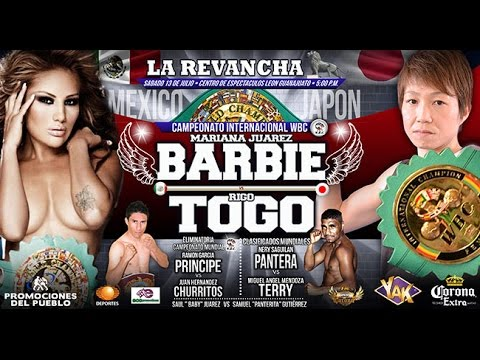 Mariana 'La Barbie' Juárez vs Riyo Togo, WBC female super flyweight titles