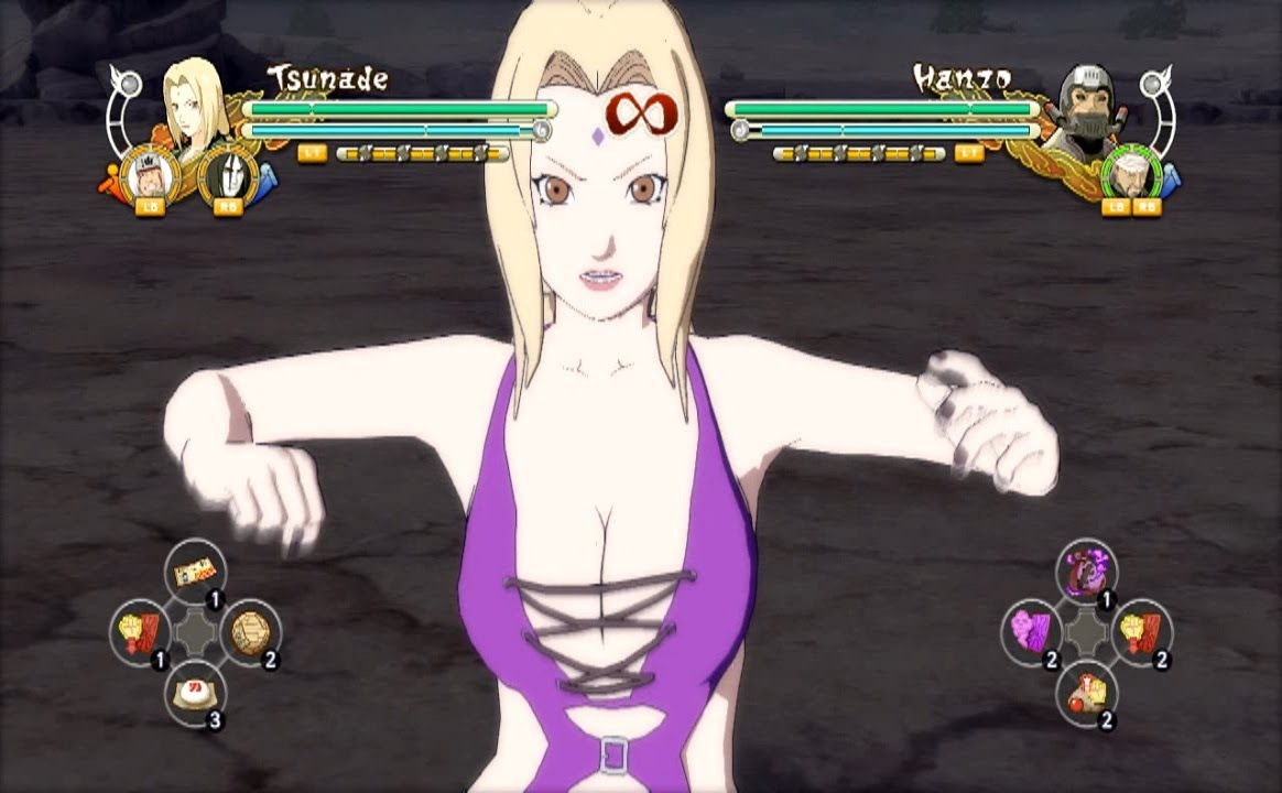 Naruto Ultimate Ninja Storm 3 Tsunade