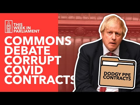 Corrupt COVID Contracts: Should Ministers Reveal Conflicts of Interest?  - TLDR News