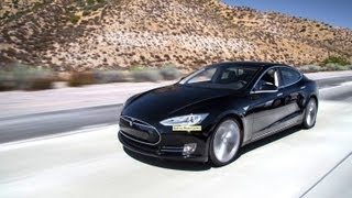 L.A. to Vegas in One Charge? Tesla Model S Road Trip! - Wide Open Throttle Episode 31