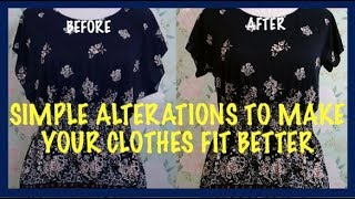 DIY EASY SIMPLE NO SEW ALTERATIONS, STYLE HOWTO