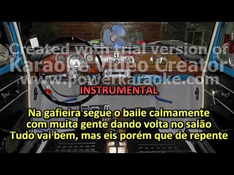SILVIO CALDAS   KARAOKE, VIEOKE   PISTÃO DE GAFIEIRA