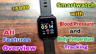 GOQii Smart Vital Watch unboxing & All Features Overview | Smartwatch with Blood Pressure monitoring