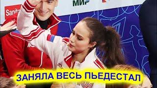 И снова Алина И опять Победа Загитова выиграла у Медведевой в короткой программе командный турнир