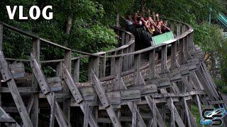 Epic Boulder Dash Night Rides  The WORST Roller Coaster EVER Lake Compounce Vlog 2021