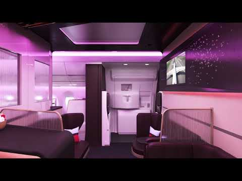 Explore The Loft, our latest social space on our A350
