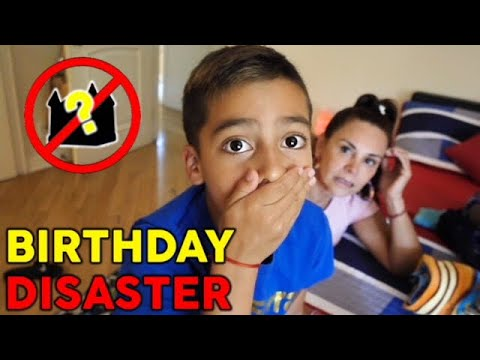 HUGE DISASTER ON HIS BIRTHDAY!