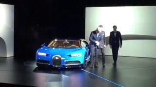 Bugatti Chiron Live Unveil: Geneva Motor Show 2016