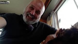 Charlie & Me visit Strandhill Caravan Park Sligo on holidays