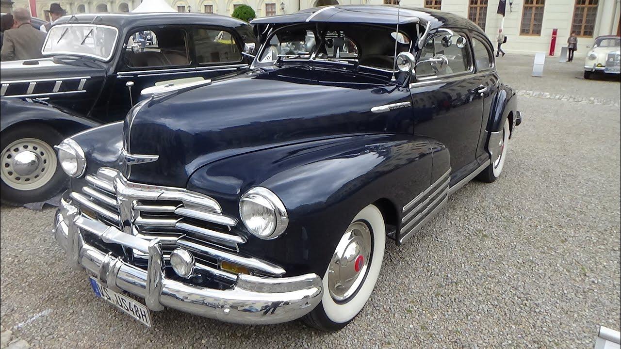 1948 Chevrolet Fleetline Aero Sedan Retro Classics Meets