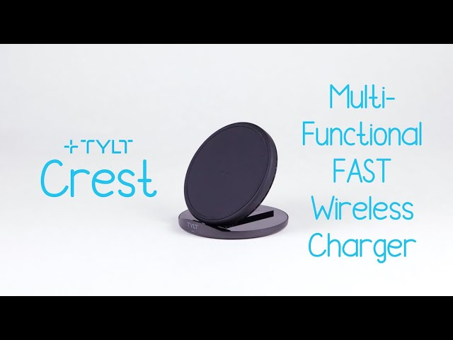 TYLT Crest | Convertible Wireless Charing Pad + Stand