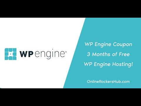 WP Engine Coupon: 3 Months of Free WP Engine Hosting!