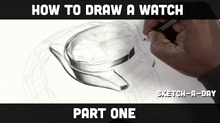 How to sketch a watch - Part 1