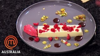 The Perfect White Chocolate Panna Cotta | MasterChef Australia | MasterChef World