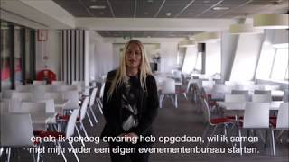 Business School Notenboom student Desiree loopt stage bij Maison van den Boer