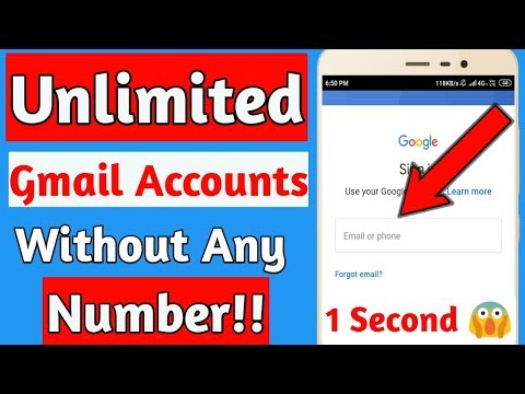 Free email account no phone number needed