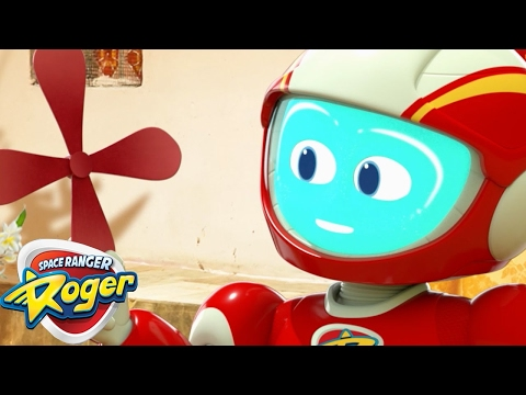Space Ranger Roger | Sky High Roger  | HD Full Episodes 9 | Cartoons For Children
