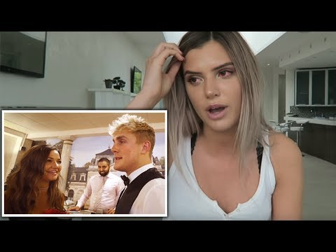 Alissa Violet reacts to Jake Paul & Erika...