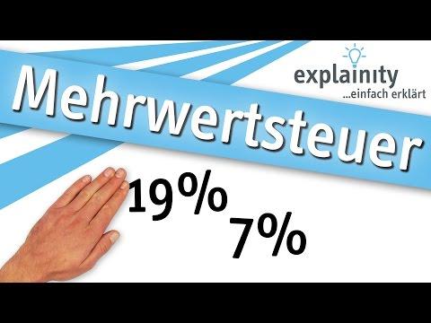 Mehrwertsteuer einfach erklärt (explainity® Erklärvideo)