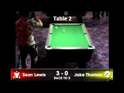 Trecco 2014 - Open Singles - Jake Powell-Thomas v Sean Lewis