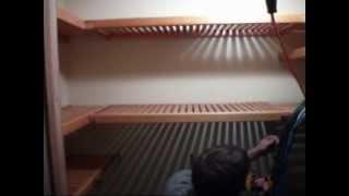 12. John Louis Home Shelf Installation In Walk-in Pantry