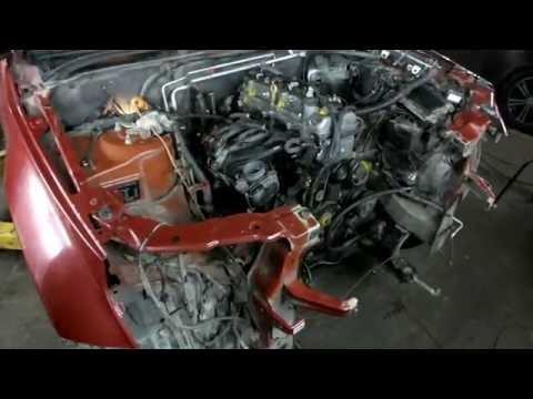 Suzuki Grand Vitara. Замена двигателя.