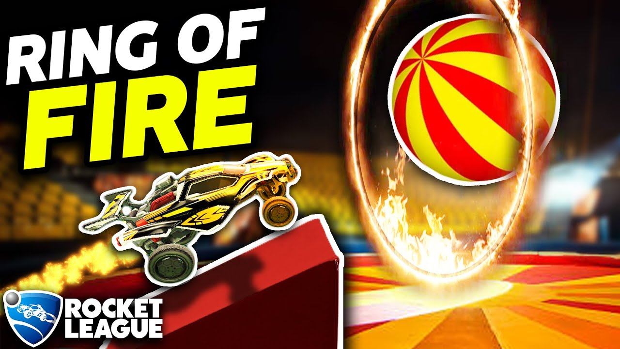 INTRODUCING: THE ROCKET LEAGUE RING OF FIRE